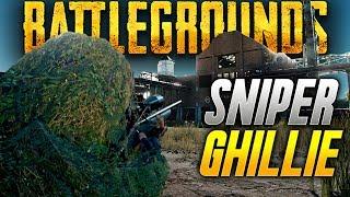 Battlegrounds: GHILLIE SNIPERS!  (Playerunknown