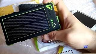 اشحن هاتفك بدون كهرباء بالطاقة الشمسية Power Bank solar  Musttru