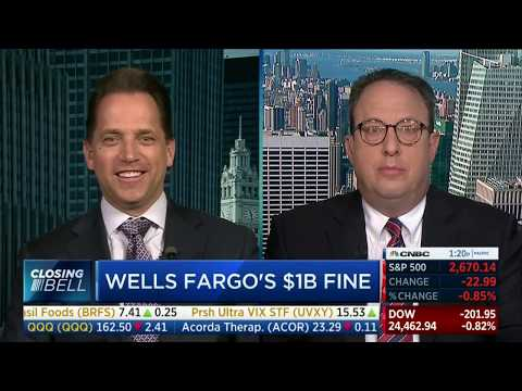 Andrew Stoltmann Discusses Wells Fargo on CNBC 4-20-18
