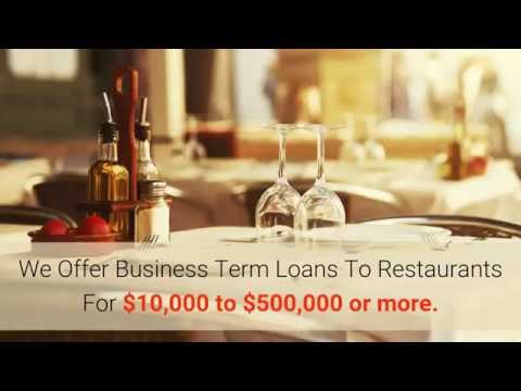 How to get a Small Business Loan For Restaurants