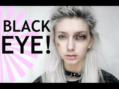 Black Eye and Bruises Makeup