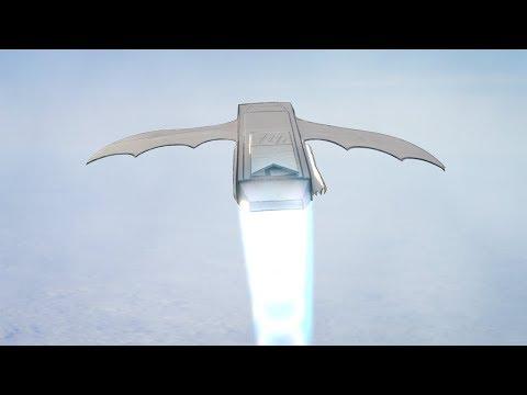 Flying Cardboard Car