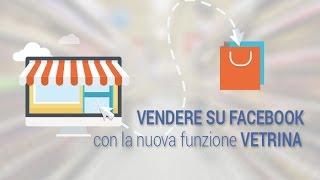 Come creare una Vetrina e Vendere su una Pagina Facebook