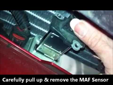 How to Clean the MAF Sensor on an S197 Mustang GT with ProCharger