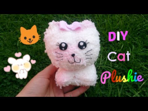 How To Make A DIY Cat Plushie With 1 sock!!😻
