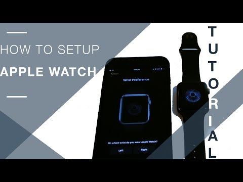 How To Setup Apple Watch For The First Time