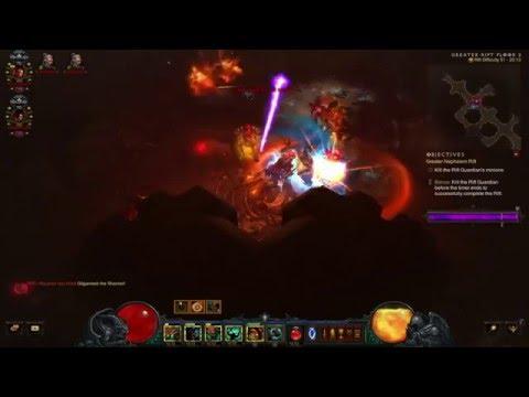 Diablo 3: The Diversity Of Uncommon Builds (Team 10/12 Grift 51 v2.4.0)