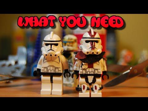 What you need to make a LEGO Star Wars Custom Clone Trooper