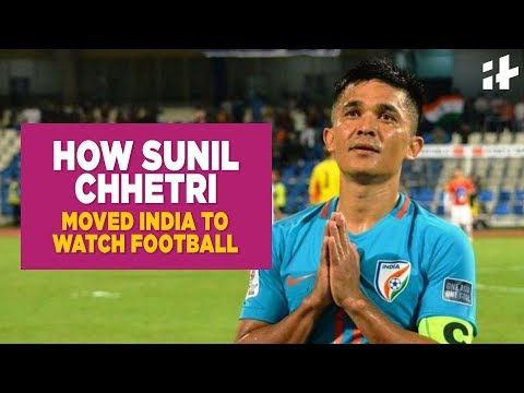 Indiatimes - How Indian Footballer Sunil Chhetri Moved The Entire Country To Watch A Football Match