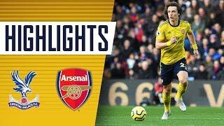 HIGHLIGHTS Crystal Palace 1 1 Arsenal Premier League