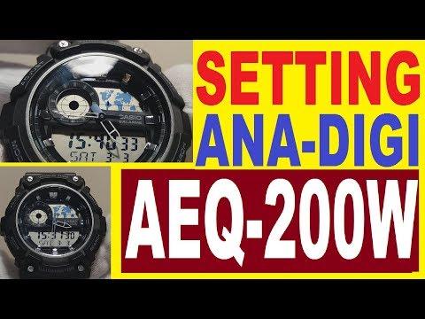 Setting Casio AEQ-200W manual 5472