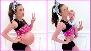 TRYING ON MY PREGNANCY CLOTHES ONE YEAR LATER!