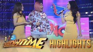 "It's Showtime Miss Q & A: Bela Padilla imitates ""Ate Girl's"" OOTD"