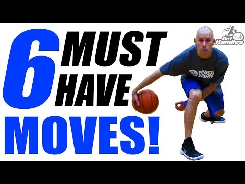 6 MUST HAVE Dribble Moves: Basketball Basics To Break Ankles + Drills!