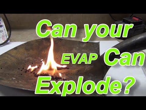How Does an EVAP Can Hold Vapors?  Activated Carbon Demonstrated