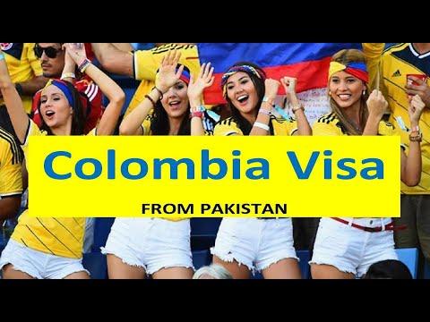 COLOMBIA - visit visa consultant - Pakistan