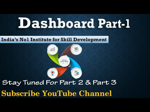 Learn Dashboard In Excel Hindi By Ctci