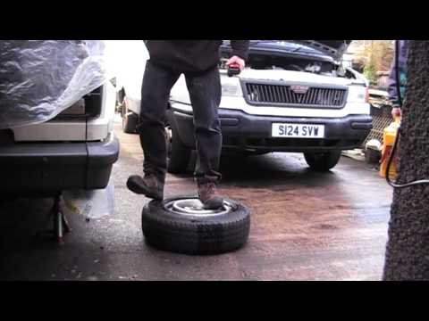 How to - Remove Car/Van Tyres Yourself