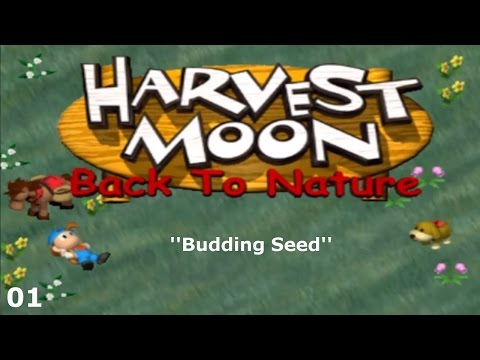 Harvest Moon: Back to Nature - Episode 01 - Budding Seed