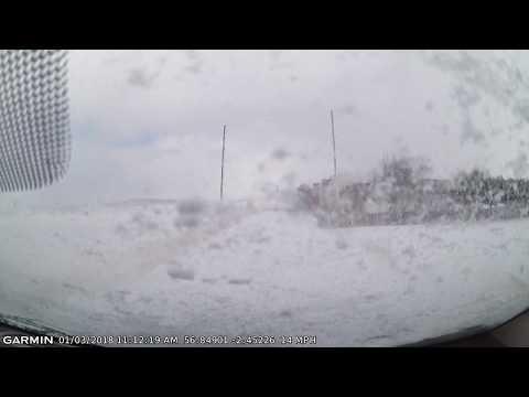 Dangers of hitting a Snowdrift