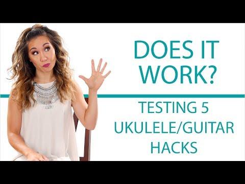 Testing 5 Guitar/Ukulele Hacks - Do They Work?