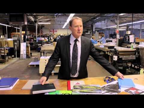 How do we make a case bound book? - Deanprint 2016