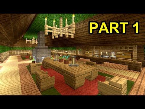 MINECRAFT: How to build tavern [part 1]