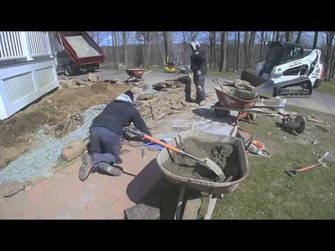 How We Build a Natural Stone Wall