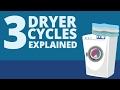 3 Dryer Settings Explained