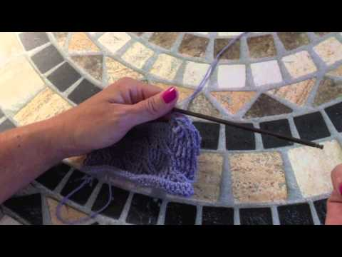 Crochet Post Stitch Cable Tutorial