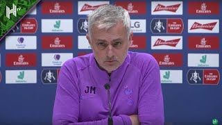 I'm waiting to hear on Gedson Fernandes   Jose Mourinho
