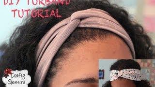 Download Turban Inspired Headband- DIY Turband Tutorial Video