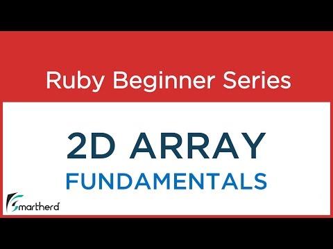 #36 Ruby Tutorial: 2D Array Concept, Fundamentals & Codes