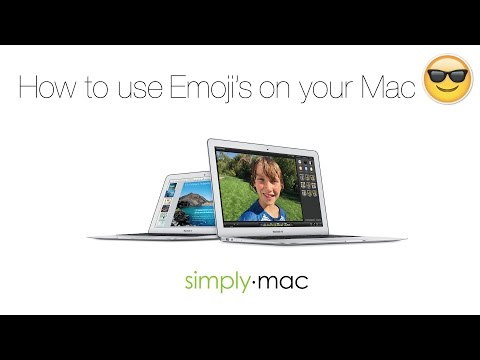 How to use Emoji's on your Mac