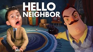 HELLO NEIGHBOR!!! Bathroom Privacy Please! SCARY!