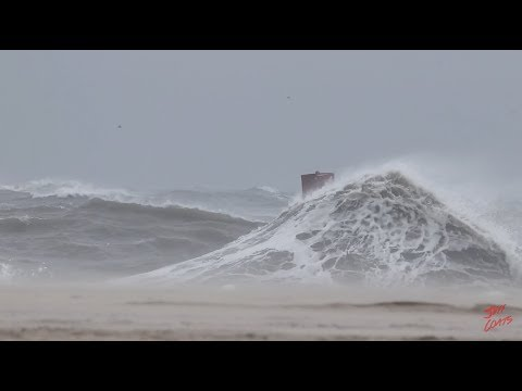 Hurricane Maria 2017 Ocean City Maryland Tropical Storm