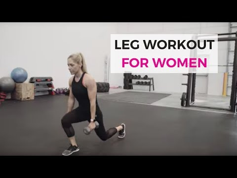 Leg Workout for Women | Quads and Hamstrings Exercises