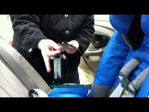 Diono RadianRXT Car Seat Review and Rear Facing Installation Demonstration