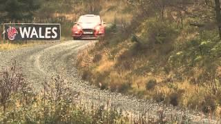 Aksi Pereli Indonesia Subhan Aksa (Ubang) di WRC Rally Inggris 2013 - DAY 3