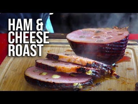 Ham and Cheese Roast on Rye