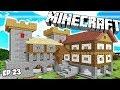 Minecraft Survie : Construction D'un CHÂTEAU FORT Géant en 1.14 ! Ep 23