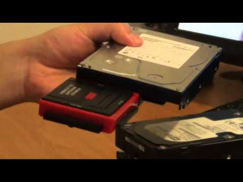 How to get data off an old hard drive