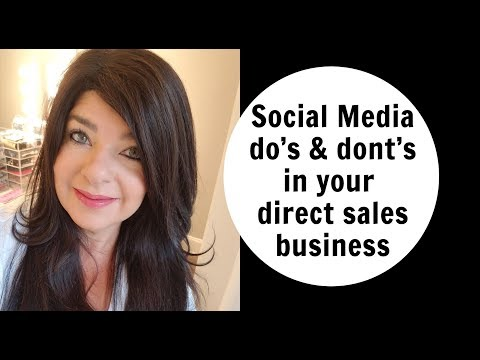 Social Media tips for your Direct Sales Business- Perfectly Posh training