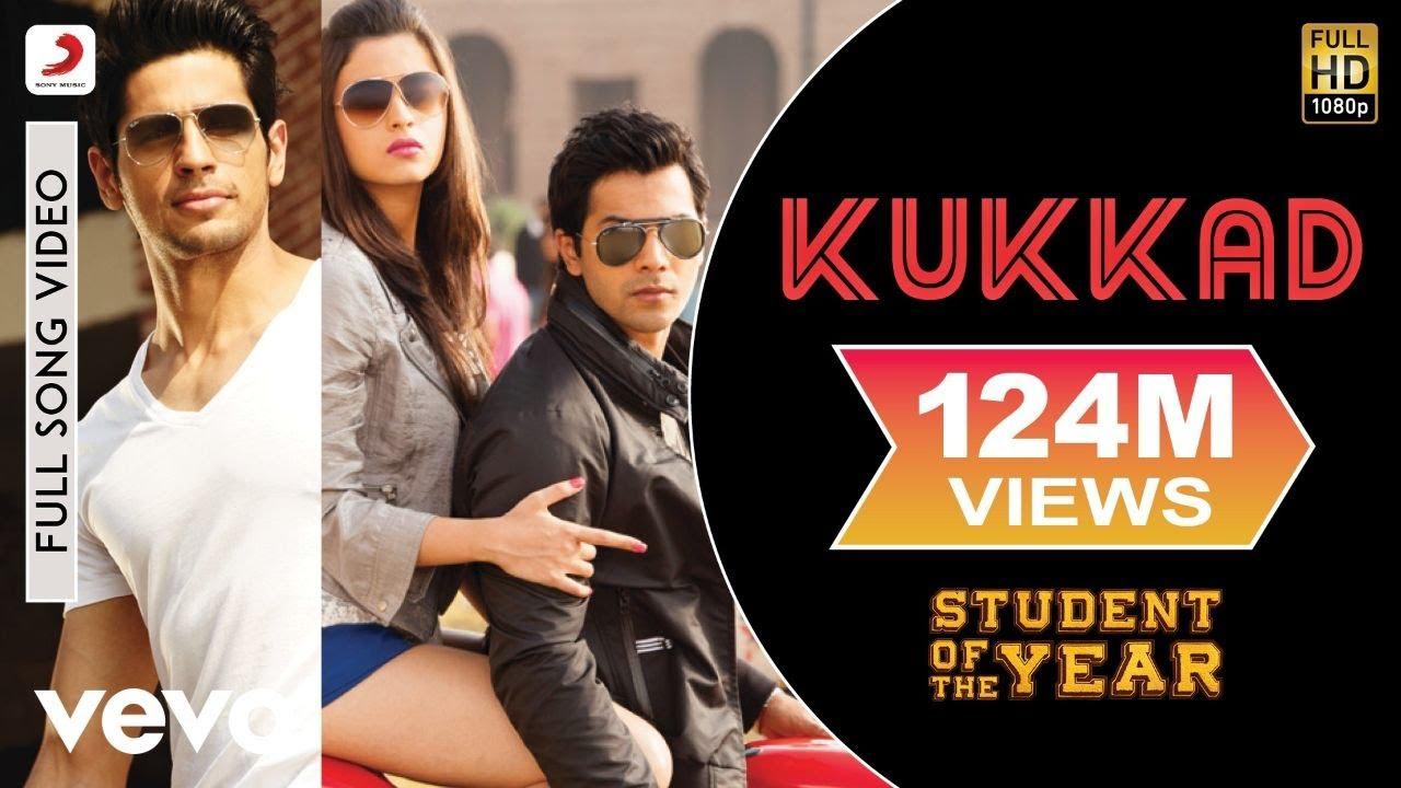 Kukkad Full - SOTY|Sidharth,Varun|Shahid Mallya|Vishal & Shekhar|Karan Johar