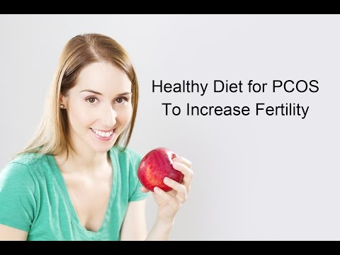 Healthy Diet for PCOS To Increase Fertility