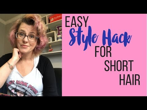 How to Keep Short Hair Out of Your Face | 👩 Hoo-Rag Review + Tutorial