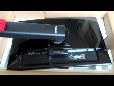 UNBOXING: Asus VG248QE 144Hz 1ms Gaming Monitor 24