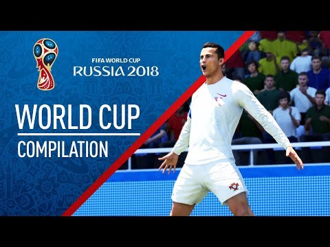 FIFA 18 | WORLD CUP Goal Compilation
