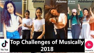 Top 10 Challenges Of Musically 2018   Avneet, Manjull, Awez, Ashika, Mrunal