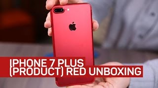 Red iPhone 7 Plus unboxing: Checking out the red of (Product)Red